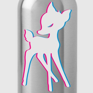 Bambi 3d T-Shirts - Water Bottle