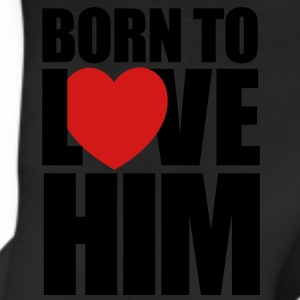 born_to_love_him - Couples Shirts - Leggings