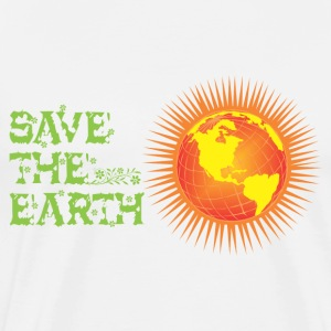 Save the earth Long Sleeve Shirts - Men's Premium T-Shirt