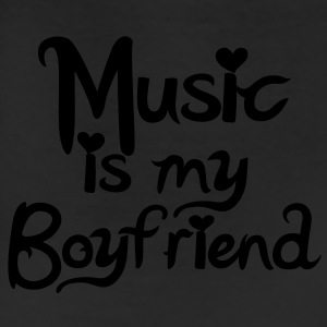 Music is my Boyfriend Vector Women's T-Shirts - Leggings