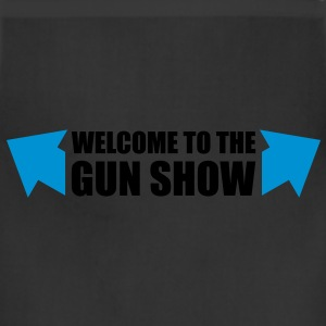 welcome to the gun show - Adjustable Apron