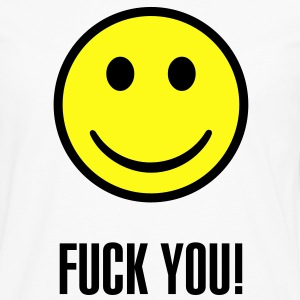 Fuck you smiley - Men's Premium Long Sleeve T-Shirt