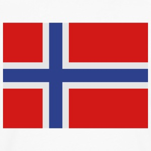 Norway - Norwegian flag - Men's Premium Long Sleeve T-Shirt