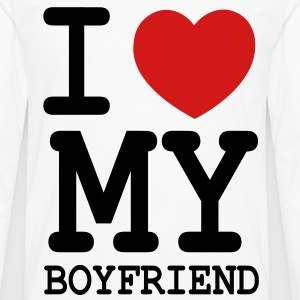 I LOVE MY BOYFRIEND - Men's Premium Long Sleeve T-Shirt