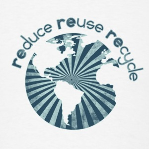 Reduce Reuse Recylce - Men's T-Shirt