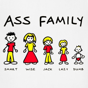 THE ASS FAMILY - Adjustable Apron