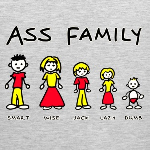 THE ASS FAMILY - Men's Premium Tank