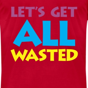 wasted Long Sleeve Shirts - Men's T-Shirt by American Apparel