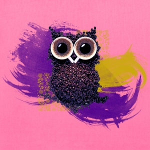 Coffee Bean Owl Women's T-Shirts - Tote Bag