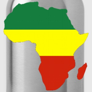 Africa Reggae Design T-Shirts - Water Bottle