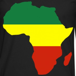 Africa Reggae Design T-Shirts - Men's Premium Long Sleeve T-Shirt