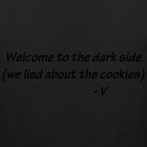 Welcome to the Dark Side Hoodies - Men's Premium Tank