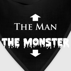 The Man and The Monster T-Shirts - Bandana