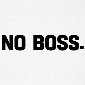 no boss Buttons - Men's T-Shirt