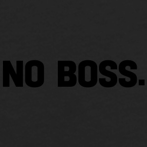 no boss Caps - Men's Premium Long Sleeve T-Shirt