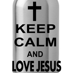 keep calm and love jesus Hoodies - Water Bottle