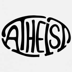 Atheist Oval - Men's Premium T-Shirt