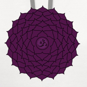 sahasrara or crown chakra t-shirt - Contrast Hoodie