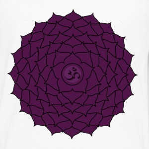 sahasrara or crown chakra t-shirt - Men's Premium Long Sleeve T-Shirt