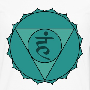 vishuddhi or throat chakra t-shirt - Men's Premium Long Sleeve T-Shirt