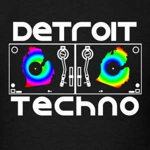 Detroit Turntables Hoodies - Men's T-Shirt