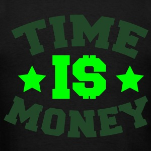 TIME IS MONEY dollars and stars Zip Hoodies/Jackets - Men's T-Shirt