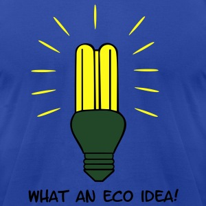 Eco Idea! Tanks - Men's T-Shirt by American Apparel