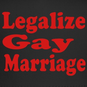 LEGALIZE GAY MARRIAGE Hoodies - Trucker Cap