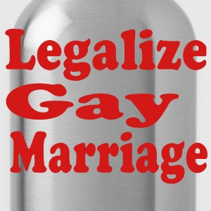 LEGALIZE GAY MARRIAGE Hoodies - Water Bottle