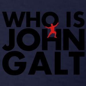 Who is John Galt - Men's T-Shirt
