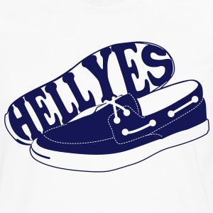 Boat shoes? Hell Yes. - Men's Premium Long Sleeve T-Shirt