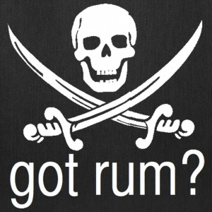 Got Rum? Skull and Swords Pirate Design T-Shirts - Tote Bag