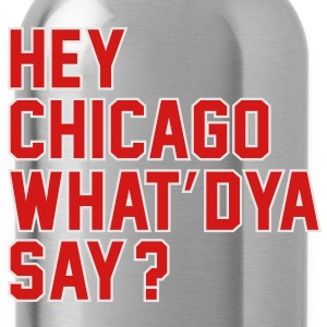 heychicago T-Shirts - Water Bottle
