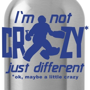 I'm Not Crazy (field hockey) T-Shirts - Water Bottle