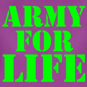 ARMY for LIFE in stencil really bold Baby & Toddler Shirts - Women's Premium T-Shirt