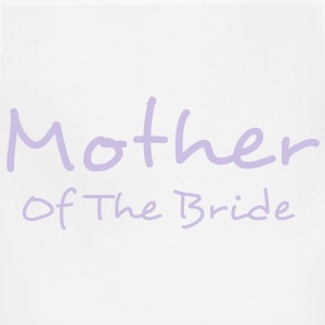 Mother of The Bride Tee Shirt Top - Adjustable Apron
