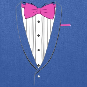 Tuxedo T Shirt Classic Pink Tie Youth - Tote Bag