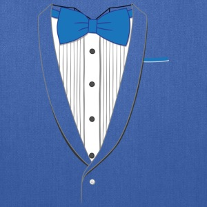 Tuxedo T Shirt Classic Blue Tie Youth - Tote Bag