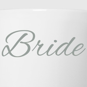 Bride Text Word Graphic Design Picture Vector Tanks - Coffee/Tea Mug