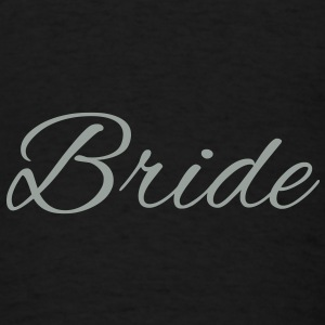 Bride Text Word Graphic Design Picture Vector Bags  - Men's T-Shirt