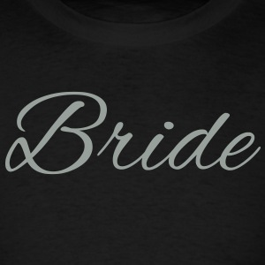 Bride Text Word Graphic Design Picture Vector Long Sleeve Shirts - Men's T-Shirt