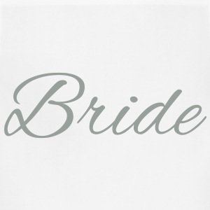 Bride Text Word Graphic Design Picture Vector Hoodies - Adjustable Apron