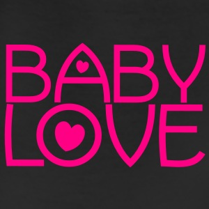 baby love cute font with love hearts lovely! Sweatshirts - Leggings