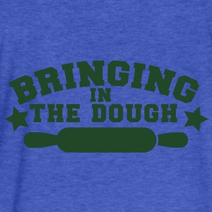 BRINGING IN THE DOUGH baking humour shirt Sweatshirts - Fitted Cotton/Poly T-Shirt by Next Level