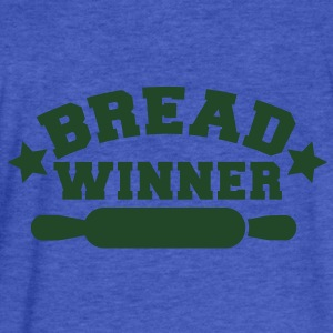 bread winner rolling pin Sweatshirts - Fitted Cotton/Poly T-Shirt by Next Level