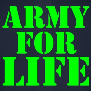 ARMY for LIFE in stencil really bold Sweatshirts - Baseball Cap