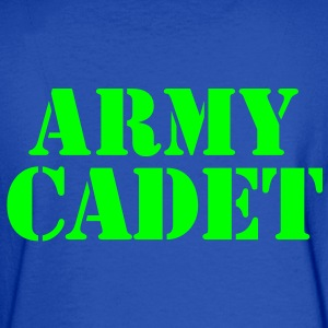 army cadet in stencil Sweatshirts - Men's Long Sleeve T-Shirt
