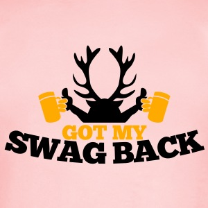 GOT MY SWAG BACK with beers and a stag Sweatshirts - Short Sleeve Baby Bodysuit