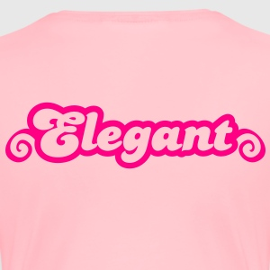 elegant with curls Sweatshirts - Women's Premium T-Shirt