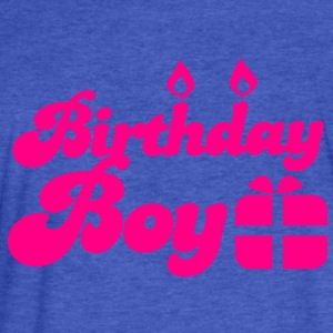 Birthday boy new with present Sweatshirts - Fitted Cotton/Poly T-Shirt by Next Level